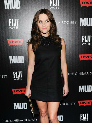 "<div class=""meta ""><span class=""caption-text "">Actress Reese Witherspoon attends the premiere of ""Mud"" hosted by The Cinema Society with FIJI Water & Levi's at the Museum of Modern Art on Monday April 21, 2013 in New York. (Photo by Evan Agostini/Invision/AP)</span></div>"