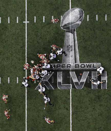 "<div class=""meta ""><span class=""caption-text "">Baltimore Ravens kicker Justin Tucker (9) makes a 38-yard field goal during the second half of the NFL Super Bowl XLVII football game against the San Francisco 49ers, Sunday, Feb. 3, 2013, in New Orleans. (AP Photo/Tim Donnelly) (AP Photo/ Tim Donnelly)</span></div>"
