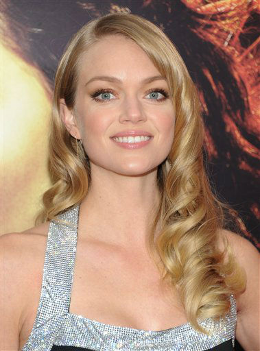 "Model Lindsay Ellingson attends a special screening of ""The Hunger Games: Catching Fire"" at AMC Lincoln Square on Wednesday, Nov. 20, 2013 in New York. (Photo by Evan Agostini/Invision/AP)"