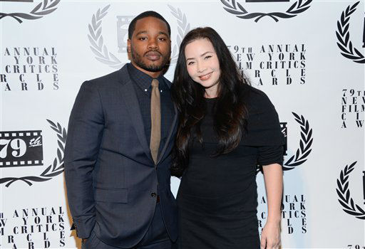 Director Ryan Coogler and producer Nina Yang Bongiovi attend the 79th Annual New York Film Critics Circle Awards at the Edison Ballroom on Monday, Jan. 6, 2014 in New York. (Photo by Evan Agostini/Invision/AP)