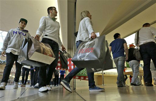 "<div class=""meta ""><span class=""caption-text "">Customers enter the Apple store as it opens at the International Mall Friday, Nov. 23, 2012, in Tampa, Fla. Black Friday, the day when retailers traditionally turn a profit for the year, actually got a jump start this year as many stores opened just as families were finishing up Thanksgiving dinner. Stores are experimenting with ways to compete with online rivals like Amazon.com that can offer holiday shopping deals at any time and on any day.</span></div>"