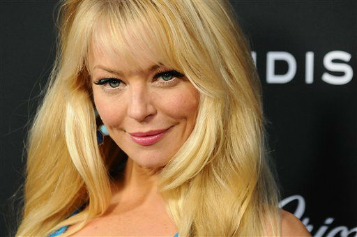 "Charlotte Ross arrives at the LA premiere of ""Olympus Has Fallen"" at the ArcLight Theatre on Monday, March 18, 2013 in Los Angeles. (Photo by Jordan Strauss/Invision/AP)"