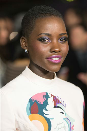 "<div class=""meta image-caption""><div class=""origin-logo origin-image ""><span></span></div><span class=""caption-text"">FILE - This Oct. 14, 2013 file photo shows actress Lupita Nyong'o at a special screening of ""12 Years A Slave"" at the Directors Guild of America in West Hollywood, Calif. Nyong'o was nominated for a Golden Globe for best supporting actress in a motion picture for her role in the film on Thursday, Dec. 12, 2013.  The 71st annual Golden Globes will air on Sunday, Jan. 12. (Photo by Paul A. Hebert/Invision/AP) (Photo/Paul A. Hebert)</span></div>"