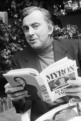"<div class=""meta ""><span class=""caption-text "">FILE - This 1977 file photo shows author Gore Vidal. Vidal died Tuesday, July 31, 2012, at his home in Los Angeles. He was 86. (AP File Photo) (AP Photo/ Uncredited)</span></div>"