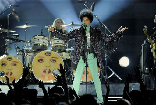 Prince performs at the Billboard Music Awards at the MGM Grand Garden Arena on Sunday, May 19, 2013 in Las Vegas. &#40;Photo by Chris Pizzello&#47;Invision&#47;AP&#41; <span class=meta>(AP Photo&#47; Chris Pizzello)</span>