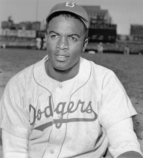 "<div class=""meta ""><span class=""caption-text "">An April 18, 1948 portrait of Brooklyn Dodgers' infielder Jackie Robinson. (AP-PHOTO) (AP Photo/ HH)</span></div>"