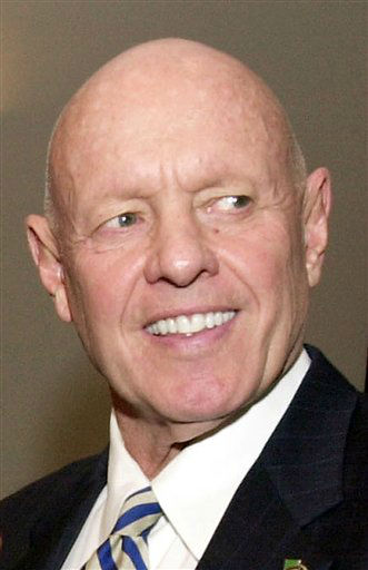 "<div class=""meta ""><span class=""caption-text "">FILE - This Feb. 25, 2003 file photo shows Dr. Stephen R. Covey at a training session at Georgia State University in Atlanta. Covey, the motivational speaker best known for the book ""The Seven Habits of Highly Effective People,"" died Monday, July 16, 2012, in Idaho three months after a serious bicycle accident in Utah. He was 79. (AP Photo/Ric Feld, File) (AP Photo/ RIC FELD)</span></div>"