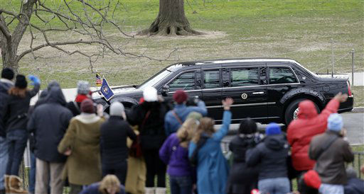 "<div class=""meta image-caption""><div class=""origin-logo origin-image ""><span></span></div><span class=""caption-text"">People wave at President Barack Obama and Vice President Joe Biden as their limousine passes Monday, Jan. 21, 2013, in Washington.  (AP Photo/Charlie Neibergall ) (AP Photo/ Charlie Neibergall)</span></div>"