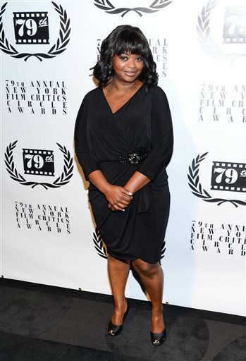 Actress Octavia Spencer attends the 79th Annual New York Film Critics Circle Awards at the Edison Ballroom on Monday, Jan. 6, 2014 in New York. &#40;Photo by Evan Agostini&#47;Invision&#47;AP&#41; <span class=meta>(Photo&#47;Evan Agostini)</span>