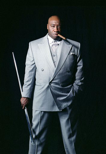 In this publicity image provided by Twentieth Century Fox, actor Michael Clarke Duncan, portrays the crime lord Kingpin in the movie &#34;Daredevil&#34;, based on a popular comic book published by Marvel. Duncan, the hulking, prolific character actor whose dozens of films included an Oscar-nominated performance as a death row inmate in &#34;The Green Mile&#34; and such other box office hits as &#34;Armageddon,&#34; &#39;&#39;Planet of the Apes&#34; and &#34;Kung Fu Panda,&#34; is dead at age 54. &#40;AP Photo&#47;20th Century Fox, Peter Stone&#41; <span class=meta>(AP Photo&#47; Peter Stone)</span>