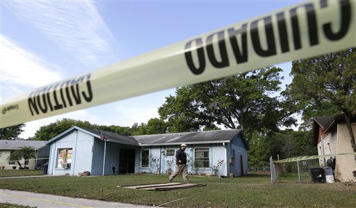 "<div class=""meta image-caption""><div class=""origin-logo origin-image ""><span></span></div><span class=""caption-text"">An engineer surveys in front of a home where sinkhole opened up on Friday, March 1, 2013, in Seffner, Fla.  A man screamed for help and disappeared as a large sinkhole opened under the bedroom of the house, his brother said Friday. The brother told rescue crews he heard a loud crash near midnight Thursday, then heard his brother screaming. The brother called police and frantically tried to help. An arriving deputy pulled him from the still-collapsing house. There's been no contact with the man since then, and neighbors on both sides of the home have been evacuated. (AP Photo/Chris O'Meara) (AP Photo/ Chris O'Meara)</span></div>"
