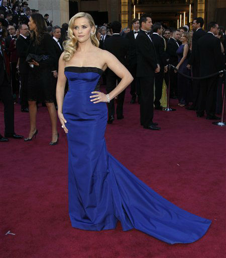 Actress Reese Witherspoon arrives at the 85th Academy Awards at the Dolby Theatre on Sunday Feb. 24, 2013, in Los Angeles. &#40;Photo by Carlo Allegri&#47;Invision&#47;AP&#41; <span class=meta>(Photo&#47;Carlo Allegri)</span>