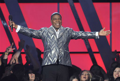 "<div class=""meta ""><span class=""caption-text "">Tracy Morgan speaks at the Billboard Music Awards at the MGM Grand Garden Arena on Sunday, May 19, 2013 in Las Vegas. (Photo by Chris Pizzello/Invision/AP) (AP Photo/ Chris Pizzello)</span></div>"