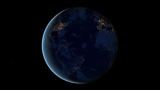 This NASA image from a composite assembled from data acquired by the Suomi NPP satellite in April and October 2012 shows the city lights of earth at night. The new data was mapped over existing Blue Marble imagery of Earth to provide a realistic view of the planet. The image was made possible by the new satellite&#39;s &#34;day-night band&#34; of the Visible Infrared Imaging Radiometer Suite &#40;VIIRS&#41;, which detects light in a range of wavelengths from green to near-infrared and uses filtering techniques to observe dim signals such as city lights, gas flares, auroras, wildfires, and reflected moonlight. The new data was mapped over existing Blue Marble imagery of Earth to provide a realistic view of the planet. &#40;AP Photo&#47;NASA&#41; <span class=meta>(AP Photo&#47; Uncredited)</span>