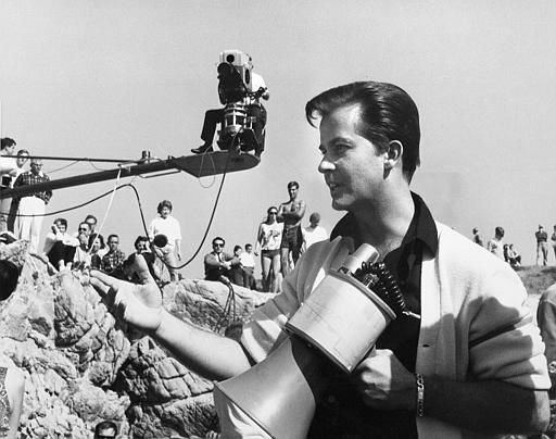 Dick Clark is seen in action as executive director of ABC-TV&#39;s new musical variety show, &#34;Where The Action Is.&#34; June 28, 1965. Clark expects to gross between six and seven million dollars this year from his production complex of varied entertainment for teens. &#40;AP Photo&#41; <span class=meta>(AP Photo&#47; XJFM RCC)</span>