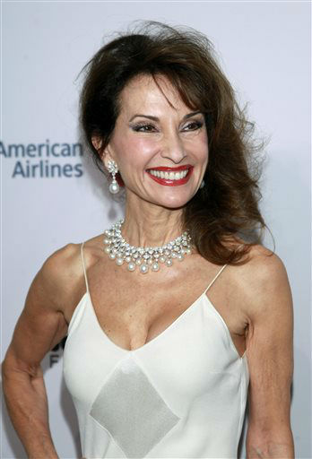 Susan Lucci arrives at the Elton John AIDS Foundation&#39;s 12th Annual &#34;An Enduring Vision&#34; benefit gala at Cipriani Wall Street on Tuesday, Oct. 15, 2013 in New York. &#40;Photo by Carlo Allegri&#47;Invision&#47;AP&#41; <span class=meta>(Photo&#47;Carlo Allegri)</span>