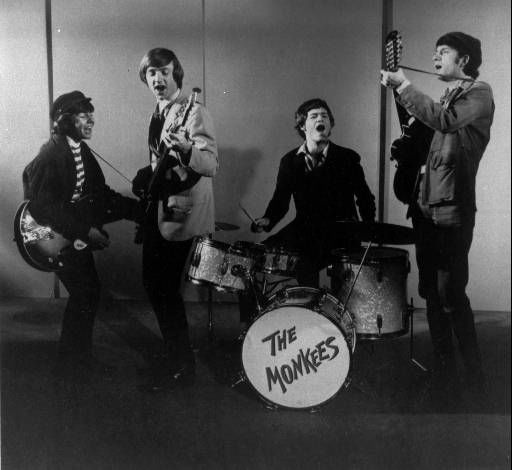 "<div class=""meta ""><span class=""caption-text "">A 1966 photo of The Monkees, singing group. (AP Photo/fls) (AP Photo/ XAG HMB)</span></div>"