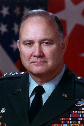 This 1991 file photos shows Gen. H. Norman Schwarzkopf.  Schwarzkopf died Thursday, Dec. 27, 2012 in Tampa, Fla. He was 78. &#40;AP Photo, File&#41; <span class=meta>(AP Photo&#47; Uncredited)</span>