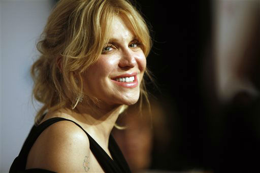 Courtney Love arrives at the Elton John AIDS Foundation&#39;s 12th Annual &#34;An Enduring Vision&#34; benefit gala at Cipriani Wall Street on Tuesday, Oct. 15, 2013 in New York. &#40;Photo by Carlo Allegri&#47;Invision&#47;AP&#41; <span class=meta>(Photo&#47;Carlo Allegri)</span>