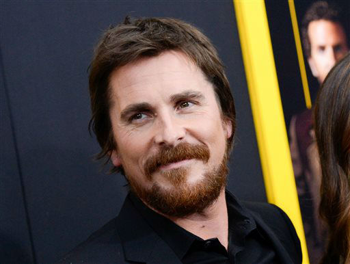 "<div class=""meta image-caption""><div class=""origin-logo origin-image ""><span></span></div><span class=""caption-text"">FILE - This Dec. 8, 2013 file photo shows actor Christian Bale at the premiere of ""American Hustle"" at the Ziegfeld Theatre in New York. Bale was nominated for a Golden Globe for best actor in a motion picture musical or comedy for his role in the film on Thursday, Dec. 12, 2013.  The 71st annual Golden Globes will air on Sunday, Jan. 12. (Photo by Evan Agostini/Invision/AP, File) (Photo/Evan Agostini)</span></div>"
