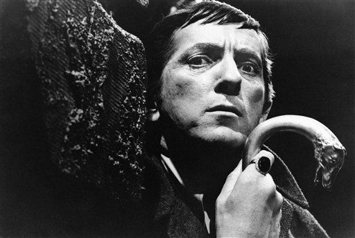 FILE - In this 1970 file photo originally released by ABC, Jonathan Frid, from &#34;Dark Shadows,&#34; is shown. Frid, a Canadian actor best known for playing Barnabas Collins in the 1960s original vampire soap opera &#34;Dark Shadows&#34;, has died. He was 87.  Frid died Friday of natural causes in a hospital in his home town of Hamilton, Ontario, said Jim Pierson, a friend and spokesman for Dan Curtis Productions, the creator of &#34;Dark Shadows.&#34; &#40;AP Photo&#47;ABC, file&#41; <span class=meta>(AP Photo&#47; Anonymous)</span>