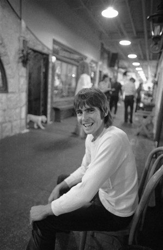 "<div class=""meta ""><span class=""caption-text "">Davy Jones of ""The Monkees"" photographed on August 5, 1970.   Jones died on February 29, 2012 of an apparent heart attack.  He was 66 years old. (AP Photo/ George Brich)</span></div>"