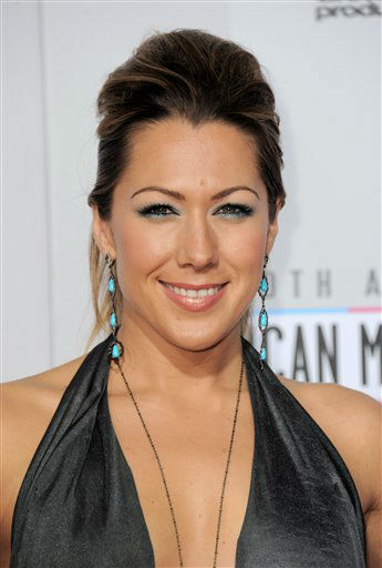 "<div class=""meta image-caption""><div class=""origin-logo origin-image ""><span></span></div><span class=""caption-text"">Colbie Caillat arrives at the 40th Anniversary American Music Awards on Sunday, Nov. 18, 2012, in Los Angeles. (Photo by Jordan Strauss/Invision/AP) (AP Photo/ Jordan Strauss)</span></div>"