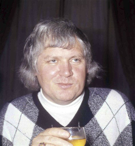 British film director Ken Russell at a reception to launch the film &#34;The Boy Friend&#34;, in London, England, in this file photo dated April 22, 1971.  Ken Russell died Monday Nov. 28, 2011.  He was 84. Russell, whose daring and sometimes outrageous films often tested the patience of audiences and critics, his films included &#34;The Music Lovers&#34; in 1970, &#34;Lisztomania&#34;, and the rock opera &#34;Tommy&#34; in 1975. &#40;AP Photo&#47;Bob Dear, file&#41; <span class=meta>(AP Photo&#47; bob dear)</span>