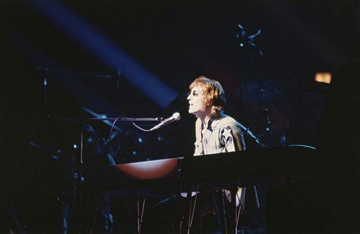 Former Beatle John Lennon performs during a charity concert to benefit mentally challenged children at Madison Square Garden, Aug. 30, 1972, New York. &#40;AP Photo&#47;Dave Pickoff&#41; <span class=meta>(AP Photo&#47; Dave Pickoff)</span>