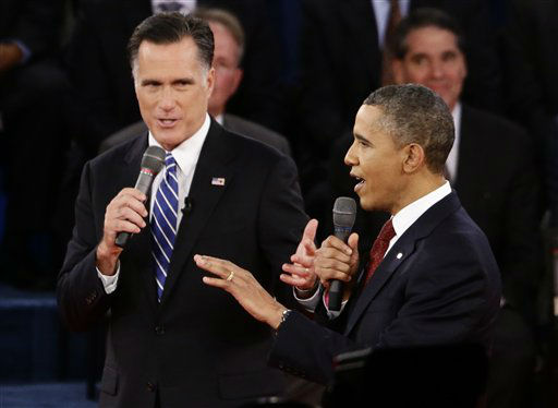 "OBAMA: The day after last month's attack on the U.S. Consulate in Benghazi, Libya, ""I stood in the Rose Garden and I told the American people and the world that we are going to find out exactly what happened. That this was an act of terror and I also said that we're going to hunt down those who committed this crime.""ROMNEY: ""I want to make sure we get that for the record, because it took the president 14 days before he called the attack in Benghazi an act of terror.""OBAMA: ""Get the transcript.""THE FACTS: Obama is correct in saying that he referred to Benghazi as an act of terrorism on Sept. 12, the day after the attack. From the Rose Garden, he said: ""No acts of terror will ever shake the resolve of this great nation, alter that character, or eclipse the light of the values that we stand for. ... We will not waver in our commitment to see that justice is done for this terrible act.""But others in his administration repeated for several days its belief that the violence stemmed from protests over an American-made video ridiculing Islam. It took almost a month before officials acknowledged that those protests never occurred. And Romney is right in arguing that the administration has yet to explain why it took so long for that correction to be made or how it came to believe that the attack evolved from an angry demonstration."