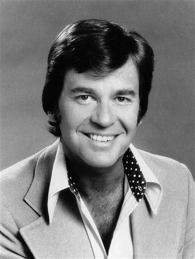 FILE - In this 1974 file photo originally provided by ABC-TV, &#34;American Bandstand&#34; host Dick Clark is shown. Clark, the television host who helped bring rock `n&#39; roll into the mainstream on &#34;American Bandstand,&#34; died Wednesday, April 18, 2012 of a heart attack. He was 82. &#40;AP Photo&#47;ABC&#41; <span class=meta>(AP Photo&#47; Anonymous)</span>