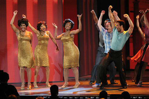 "<div class=""meta image-caption""><div class=""origin-logo origin-image ""><span></span></div><span class=""caption-text"">The cast of ""Motown The Musical"" performs at the 67th Annual Tony Awards, on Sunday, June 9, 2013 in New York.  (Photo by Evan Agostini/Invision/AP) (AP Photo/ Evan Agostini)</span></div>"
