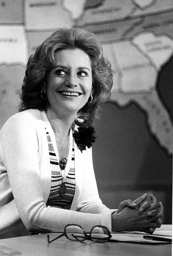 Television newswoman Barbara Walters smiles as she appears as co-host on NBC&#39;s Today Show, in New York City, April 23, 1976. During the show Walters announced she has accepted an ABC offer to become the rival networks&#39; evening news anchorwoman. &#40;AP Photo&#41; <span class=meta>(AP Photo&#47; XCB)</span>