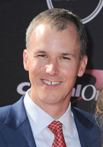 Southern California men&#39;s basketball coach Andy Enfield arrives at the ESPY Awards on Wednesday, July 17, 2013, at Nokia Theater in Los Angeles. &#40;Photo by Jordan Strauss&#47;Invision&#47;AP&#41; <span class=meta>(Photo&#47;Jordan Strauss)</span>