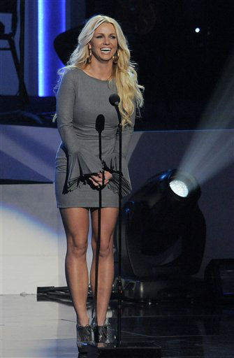 Britney Spears speaks onstage at &#34;We Will Always Love You: A Grammy Salute to Whitney Houston,&#34; at Nokia Theatre on Thursday, Oct. 11, 2012, in Los Angeles. &#40;Photo by Chris Pizzello&#47;Invision&#47;AP&#41; <span class=meta>(Photo&#47;Chris Pizzello)</span>