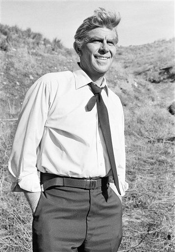 "<div class=""meta ""><span class=""caption-text "">Andy Griffith, photographed on the set of TV's ""Salvage-1"" near Los Angeles, Feb. 23, 1979 plays salvage expert extraordinaire Harry Broderick, hero of the series. He's best known as Sheriff Andy Taylor of ""the Andy Griffith show, which ran for 8 years in the 1960s.""  (AP Photo) (AP Photo/ JA)</span></div>"