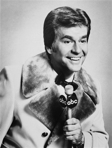 FILE - In this Dec. 1980 file photo released by ABC, Dick Clark is shown. Clark, the television host who helped bring rock `n&#39; roll into the mainstream on &#34;American Bandstand,&#34; has died. He was 82. Spokesman Paul Shefrin says Clark died but did not provide further details. Clark had continued performing even after he suffered a stroke in 2004 that affected his ability to speak and walk. &#40;AP Photo&#47;File&#41; <span class=meta>(AP Photo&#47; Anonymous)</span>