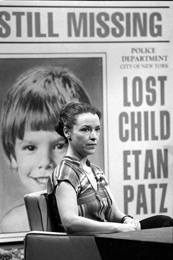 "<div class=""meta image-caption""><div class=""origin-logo origin-image ""><span></span></div><span class=""caption-text"">Julie Patz, mother of Etan Patz, who has been missing for a couple of years since disappearing in New York, speaks on NBC-TV's ""Today"" show in New York City on March 26, 1981.  Patz said the reason so many missing children are not found is that police departments in various cities do not talk to each other in conducting searches.  (AP Photo/Dave Pickoff) (AP Photo/ DAVE PICKOFF)</span></div>"