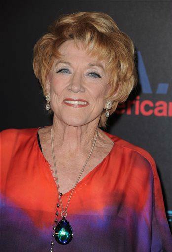FILE - In this June 27, 2013 file photo, Jeanne Cooper arrives at the 37th Annual Daytime Emmy Awards at Las Vegas Hilton in Las Vegas, Nevada.  CBS says soap opera star Jeanne Cooper has died. She was 84.  Cooper played grande dame Katherine Chancellor on CBS&#39; &#34;The Young and the Restless&#34; for nearly four decades. &#40;Photo by Jordan Strauss&#47;Invision&#47;AP Images, File&#41; <span class=meta>(AP Photo&#47; Jordan Strauss)</span>