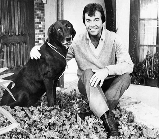 Dick Clark is shown with his dog Mort in March 8, 1982.   &#40;AP Photo&#47;Lennox Mclendon&#41; <span class=meta>(AP Photo&#47; LENNOX MCLENDON)</span>