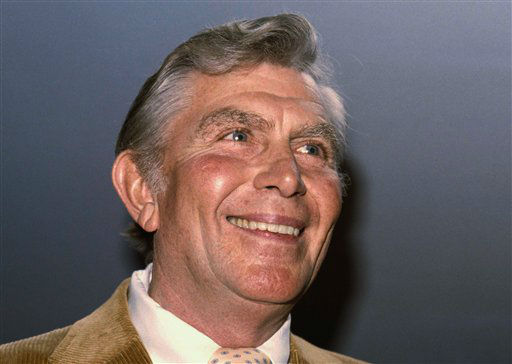 Actor Andy Griffith, Jan. 9, 1984. (AP Photo)