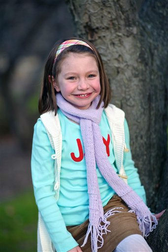 "<div class=""meta image-caption""><div class=""origin-logo origin-image ""><span></span></div><span class=""caption-text"">This Nov. 18, 2012 photo provided by John Engel shows Olivia Engel, 6, in Danbury, Conn. Olivia Engel. Olivia Engel, was killed Friday, Dec. 14, 2012, when a gunman opened fire at Sandy Hook Elementary School, in Newtown, Conn., killing 26 children and adults at the school. (AP Photo/Engel Family, Tim Nosezo) (AP Photo/ Tim Nosezo)</span></div>"