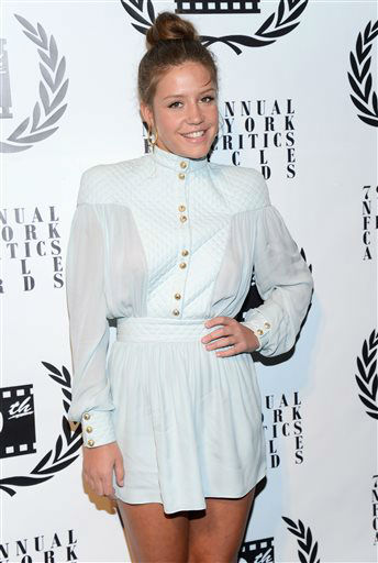 French actress Adele Exarchopoulos attends the 79th Annual New York Film Critics Circle Awards at the Edison Ballroom on Monday, Jan. 6, 2014, in New York. &#40;Photo by Evan Agostini&#47;Invision&#47;AP&#41; <span class=meta>(Photo&#47;Evan Agostini)</span>