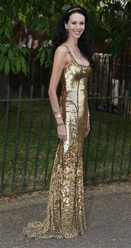 L'Wren Scott arrives for the Serpentine Gallery Summer Party at Hyde Park in central London, Wednesday, June 26, 2013. (Photo by Joel Ryan/Invision/AP)