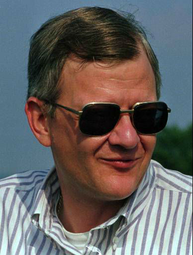 Best-selling author Tom Clancy is seen in this 1992 photo &#40;AP Photo&#41; <span class=meta>(AP Photo&#47; CARLOS OSORIO)</span>