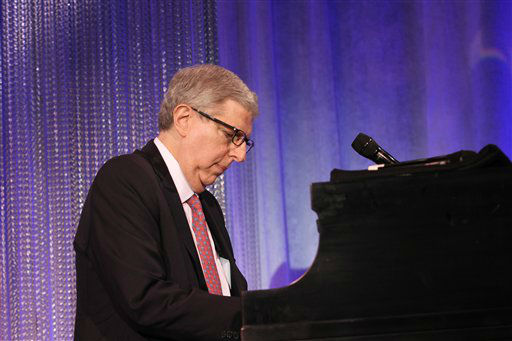 FILE - In this Nov. 8, 2011 file photo originally released by Cedars-Sinai Medical Center, composer Marvin Hamlisch performs at the Cedars-Sinai Board of Governors Gala at The Beverly Hilton Hotel in Beverly Hills, Calif. Hamlisch, a conductor and award-winning composer best known for the torch song &#34;The Way We Were,&#34; died Monday, Aug. 6, 2012 in Los Angeles. He was 68. &#40;AP Photo&#47;Cedars-Sinai Medical Center, Alex J. Berliner&#41; <span class=meta>(AP Photo&#47; Alex J. Berliner)</span>