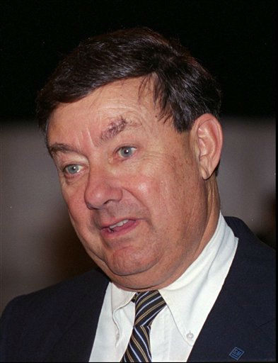 "<div class=""meta ""><span class=""caption-text "">In this May 1993 file photo, General Motors Chairman John G. Smale appears at the automaker's annual meeting in Oklahoma City. Former Procter & Gamble Co. chief executive and chairman Smale, who expanded the consumer products maker with a major acquisition and a push into China and other emerging markets overseas, died Saturday, Nov. 19, 2011. He was 84. Smale led P&G from 1981 to 1990 and was the seventh chief executive of the 174-year-old company. He also was chairman of General Motors Co. from 1992 to 1995 and was a board member of the automaker for more than two decades, beginning in 1982. (AP Photo/David Longstreath, File) (AP Photo/ David Longstreath)</span></div>"