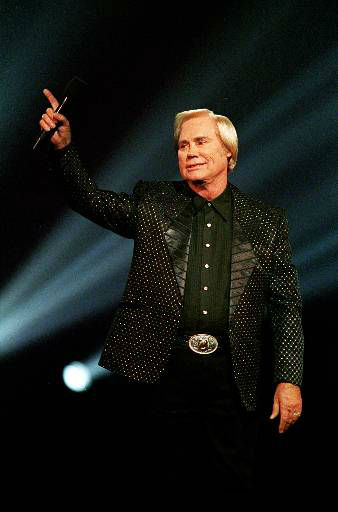 Country singer George Jones is shown performing at the Country Music Association Awards in Nashville, Tn. in this Sept. 29, 1993  photo.  &#40;AP Photo&#47;Mark Humphrey&#41; <span class=meta>(AP Photo&#47; MARK HUMPHREY)</span>