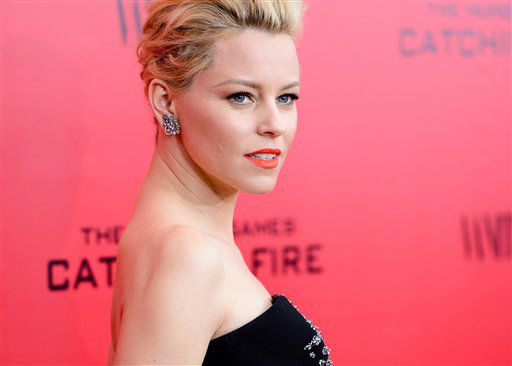 "Actress Elizabeth Banks attends a special screening of ""The Hunger Games: Catching Fire"" at AMC Lincoln Square on Wednesday, Nov. 20, 2013 in New York. (Photo by Evan Agostini/Invision/AP)"