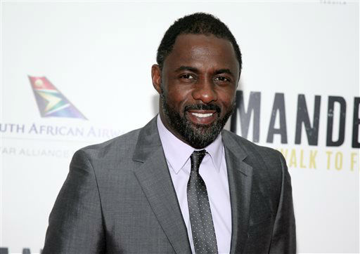 "<div class=""meta image-caption""><div class=""origin-logo origin-image ""><span></span></div><span class=""caption-text"">FILE - This Nov. 14, 2013 file photo shows actor Idris Elba at the New York premiere of ""Mandela: Long Walk To Freedom"" in New York. Elba was nominated for a Golden Globe for best actor in a motion picture drama for his role in the film on Thursday, Dec. 12, 2013.  The 71st annual Golden Globes will air on Sunday, Jan. 12. (Photo by Andy Kropa/Invision/AP, File) (Photo/Andy Kropa)</span></div>"
